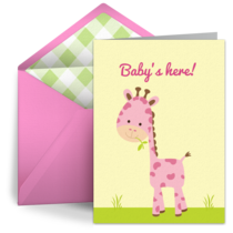 The Pink Giraffe card image