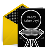 Labor Day Barbecue card image