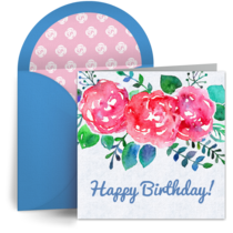 Bright Blooms card image