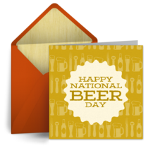 National Beer Day | Apr 7 card image