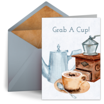 Hot Cup of Coffee card image