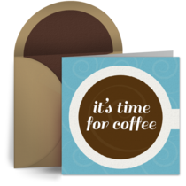 Coffee Cup card image