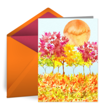 Autumn Scene card image