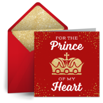 Prince of My Heart card image