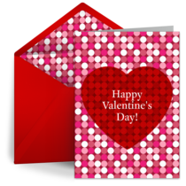 Valentine Dots card image