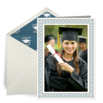 Graduation Photo Frame card image