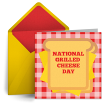 Grilled Cheese Day | Apr 12 card image