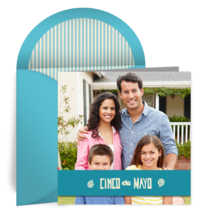 Turquoise Photo Frame card image