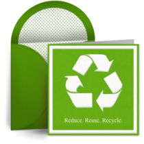 Recycle card image