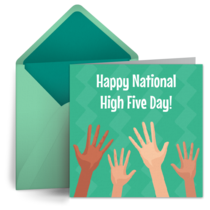 High Five Day | Apr 18 card image