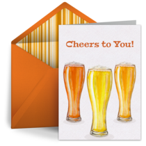 Birthday Beer & Ale card image