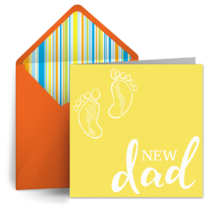 New Dad card image