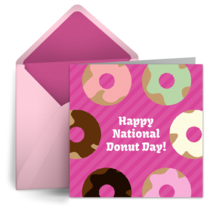 Donuts & Stripes card image
