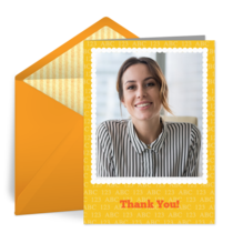 ABC Thank You card image