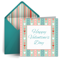 Sweet Valentine Pattern card image