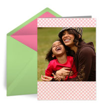 Mother's Day Picnic  card image