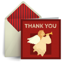 Thank You Angel card image