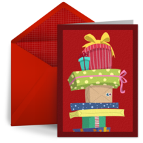 Holiday Presents card image