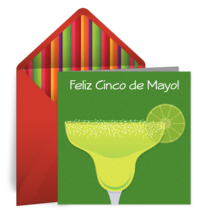 Cinco de Mayo Margarita card image