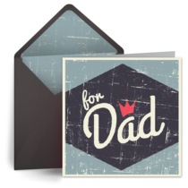 For Dad card image
