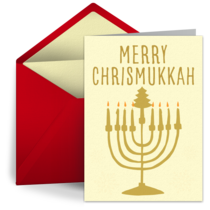 A Merry Chrismukkah card image