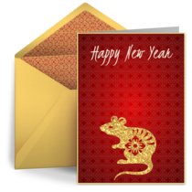 Year of the Rat 2020 card image