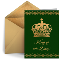 King of the Day card image