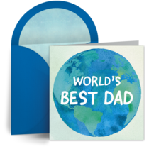 Best Dad in the World card image