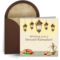 Ramadan Lanterns card image