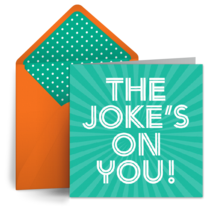 The Joke's On You card image