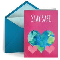 Stay Safe Globe card image