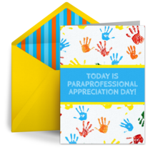 Paraprofessional Day | Apr 1 card image