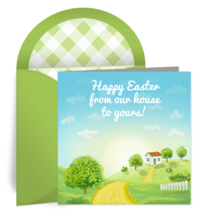 Sunny Easter Day card image