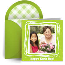 Happy Earth Day card image