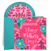 Personalized Mom card image