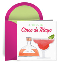 Cheers to Cinco de Mayo card image