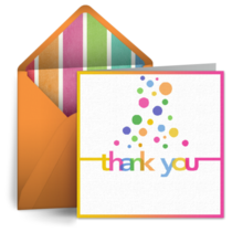 Bubbles Teacher Thank You card image