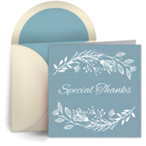 Special Thanks Teachers card image