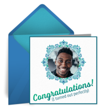 Congratulations! I'm perfect. card image