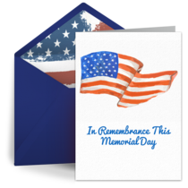 In Remembrance card image