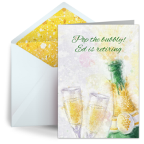 Pop the Bubbly card image