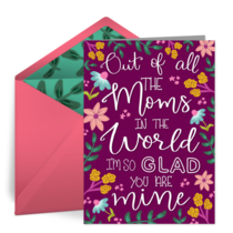 All the Moms in the World card image