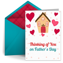 Father's Day Thoughts card image