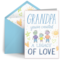 Legacy of Love card image