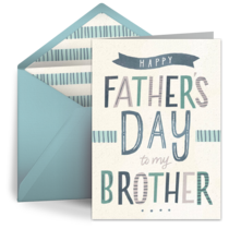 Brother Word Art card image