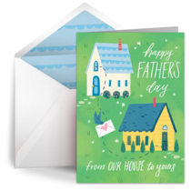 Father's Day from Our House card image