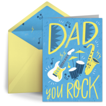 Dad, You Rock card image