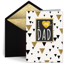 I Love My Dad card image