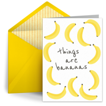 Things Are Bananas card image