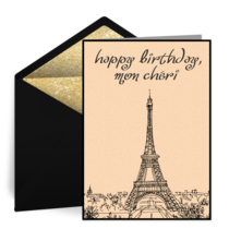 Paris Scene card image